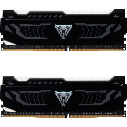 Patriot 16GB Viper White LED Series DDR4 3200 MHz DIMM Memory Kit (2 x 8GB)