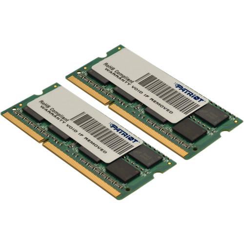 Patriot 8GB Signature Series DDR3 1333 MHz SODIMM Memory Kit (2 x 4GB)
