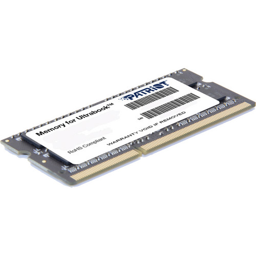 Patriot Signature Series 4GB DDR3 PC3-12800 1600 MHz SODIMM Memory Module (2-Pack)