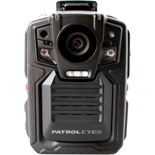 PatrolEyes 1080p IR Police Body Camera with GPS (16 GB)