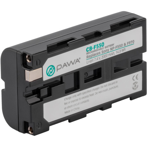 Pawa NP-F550 Lithium-Ion Battery Pack (7.4V, 2000mAh)