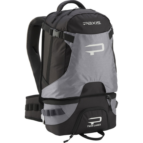 PAXIS Twin Lakes | Quarry Backpack (Black/Gray)