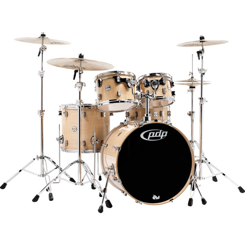 PDP Concept Maple Series 5-Piece Drum Kit (Natural Finish)