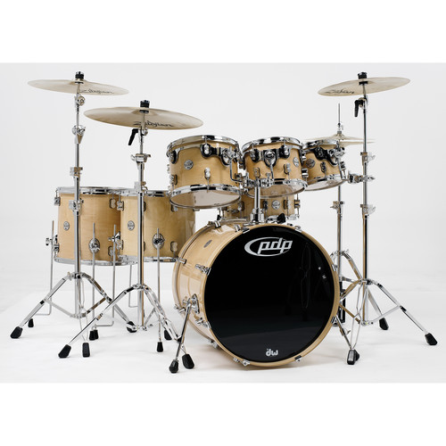 PDP Concept Maple Series 7-Piece Drum Kit (Natural Finish)