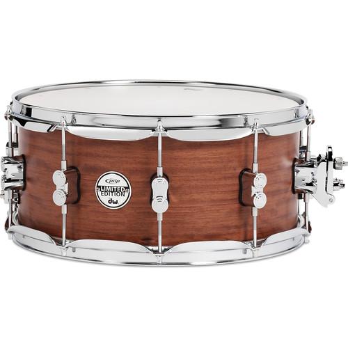 pdp 6 5 bubinga snare drum pdsx6514bmbm b h photo video. Black Bedroom Furniture Sets. Home Design Ideas