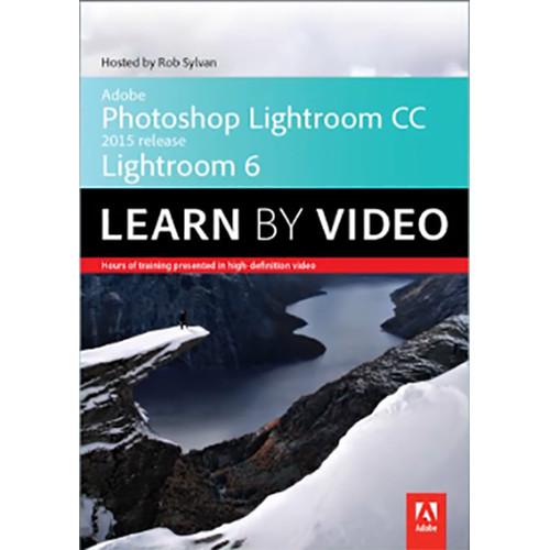 Peachpit Press DVD: Adobe Photoshop Lightroom CC (2015 release) / Lightroom 6 Learn by Video