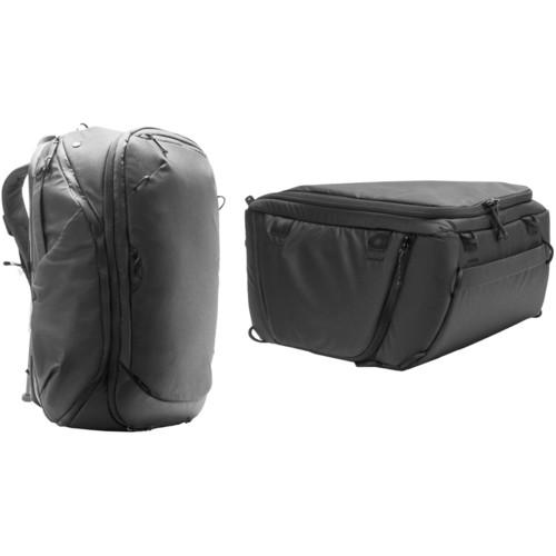 Peak Design 45L Travel Backpack with Medium Camera Cube Kit (Black)