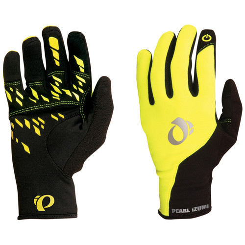 Pearl Izumi Men's Thermal Conductive Glove (Large, Yellow)