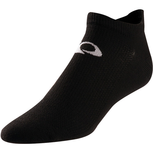 Pearl Izumi Men's Attack No-Show Socks (Large, Black)