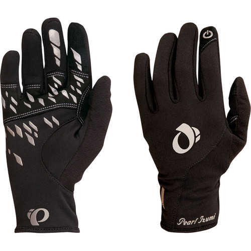 Pearl Izumi Women's Thermal Conductive Gloves (Black, XL)