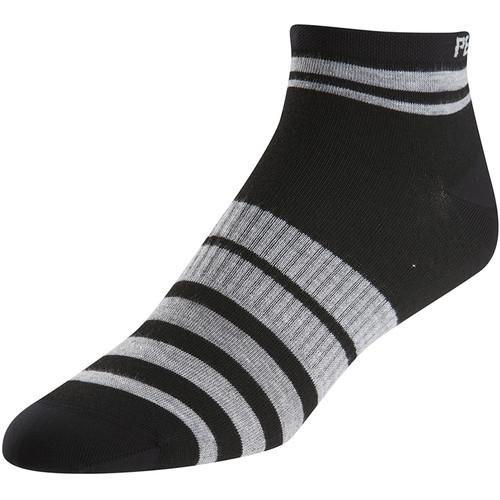 Pearl Izumi Women's ELITE Low Socks (Large, Pi Core Black)