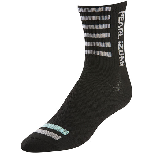 Pearl Izumi Women's P.R.O. Tall Socks (Medium, Black)