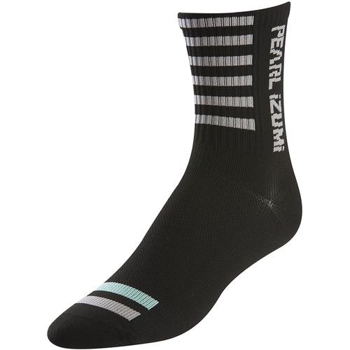 Pearl Izumi Women's P.R.O. Tall Socks (Small, Black)