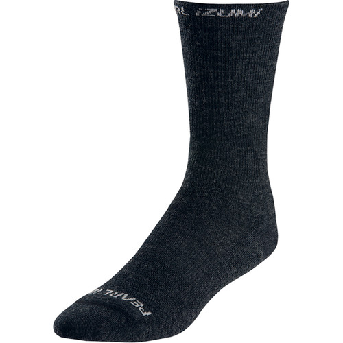 Pearl Izumi ELITE Thermal Wool Sock (Large, Black)