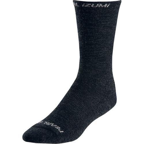 Pearl Izumi ELITE Thermal Wool Sock (XL, Black)
