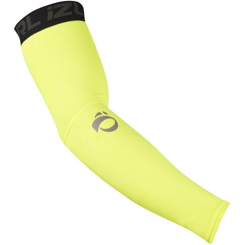 Pearl Izumi ELITE Thermal Arm Warmer (Large, Screaming Yellow)