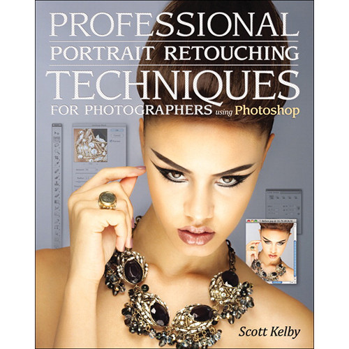 New Riders Professional Portrait Retouching Techniques for Photographers Using Photoshop (Book)