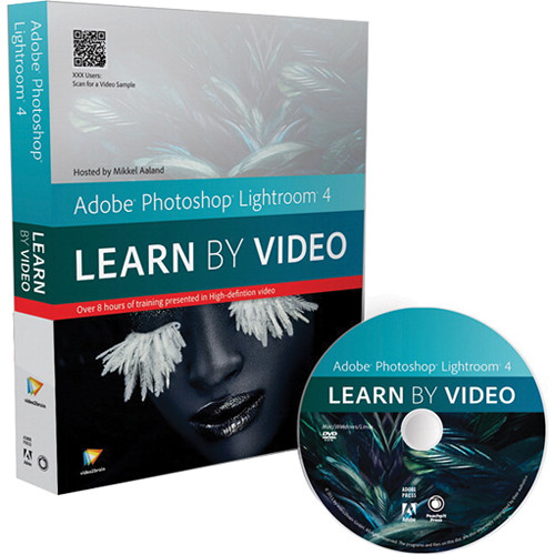 Peachpit Press DVD: Adobe Photoshop Lightroom 4: Learn by Video