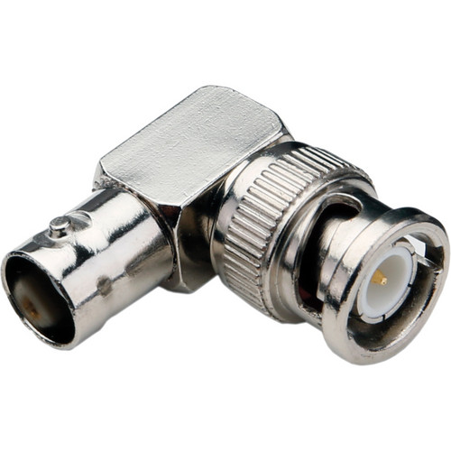 Pearstone BNC Female to BNC Male Right-Angle Adapter