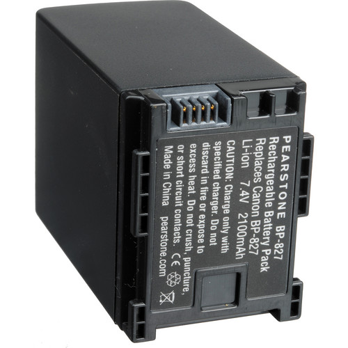 Pearstone BP-827 Lithium-Ion Battery Pack (7.4V, 2100mAh)