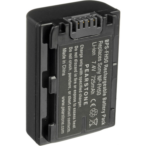Pearstone NP-FH50 H-Series Lithium-Ion Battery (7.4V, 725mAh)