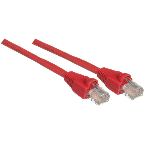 Pearstone 1' Cat5e Snagless Patch Cable (Red)