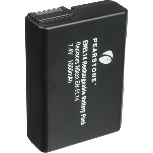 Pearstone EN-EL14 Lithium-Ion Battery Pack (7.4V, 1000mAh)