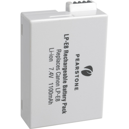 Pearstone LP-E8 Lithium-Ion Battery Pack (7.4V, 1100mAh)