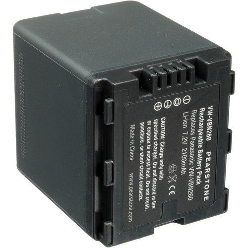 Pearstone VW-VBN260 Lithium-Ion Battery Pack (7.2V, 2100mAh)