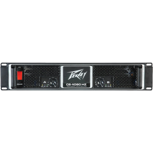 Peavey CS 4080HZ - Stereo Power Amplifier (2040W per Channel at 4 Ohm)