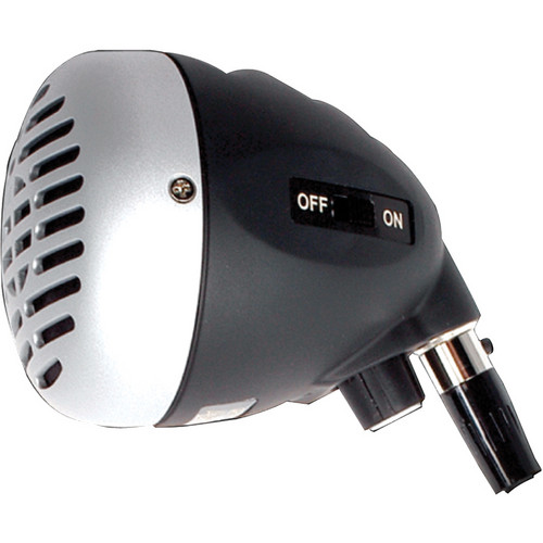 Peavey H-5 Harmonica Microphone (Black / Silver)
