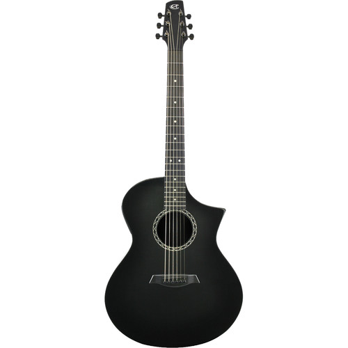 Peavey GX Acoustic/Electric Guitar by Composite Acoustics (High Gloss Carbon Burst)