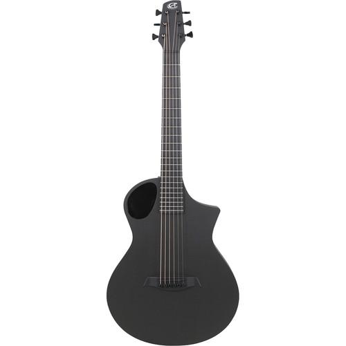 Peavey Cargo Acoustic/Electric Guitar by Composite Acoustics (Satin Back Raw Carbon Fiber Top)