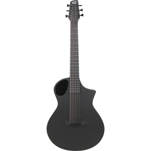 Peavey Composite Cargo Acoustic Guitar (Satin Back/Raw Carbon Fiber Top)
