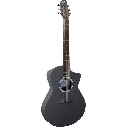 Peavey Ox Legacy Acoustic Guitar (Satin Back/Raw Carbon Fiber Top)