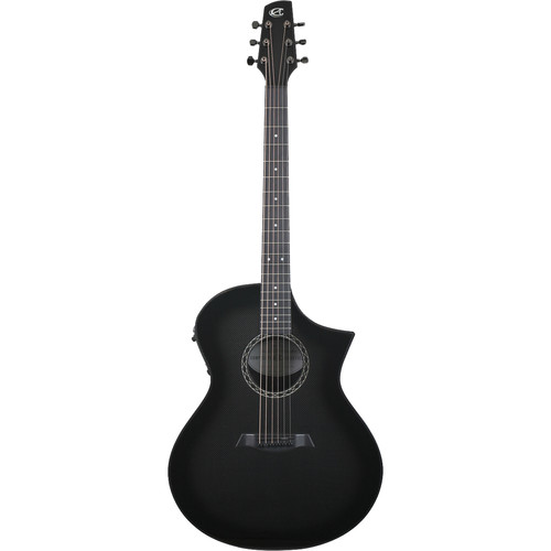 Peavey GX Narrow Neck Acoustic/Electric Guitar by Composite Acoustics (High Gloss Carbon Burst)