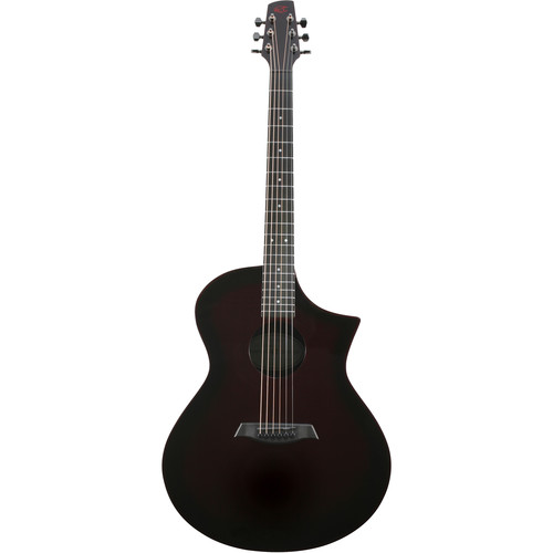 Peavey GX Acoustic/Electric Guitar by Composite Acoustics (High Gloss Wine Red Burst)