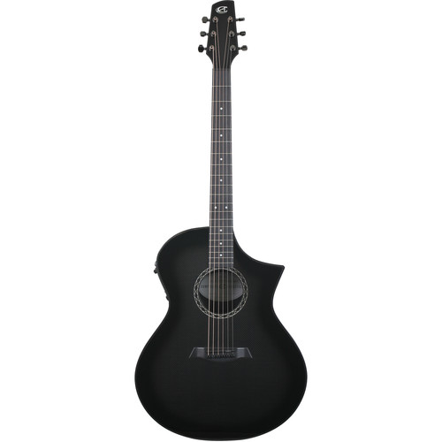 Peavey GX Narrow Neck Acoustic/Electric Guitar by Composite Acoustics (High Gloss Wine Red Burst)