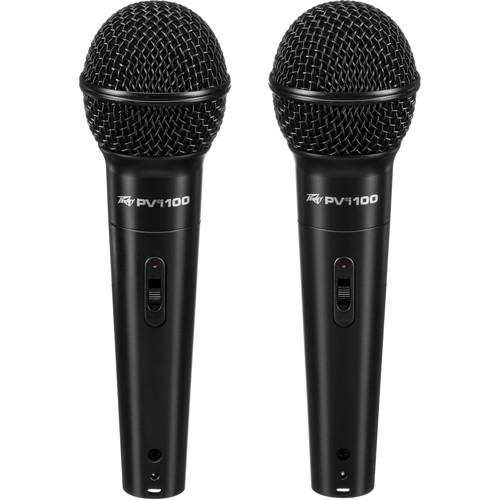 Peavey PVi 100 Dynamic Cardioid Microphone (2-Pack)