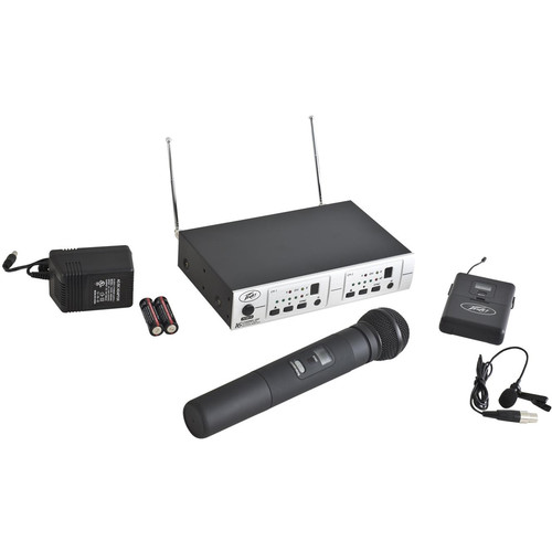 Peavey PV 16DR Channel UHF Receiver System HH/BL