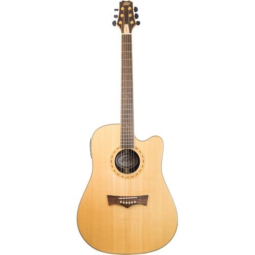 Peavey DW-4CE Acoustic/Electric Guitar (Natural)