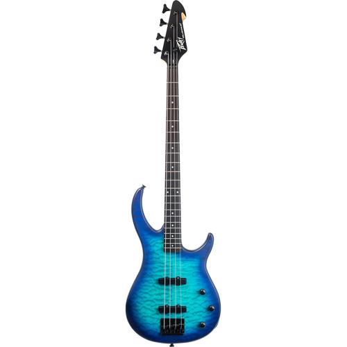 Peavey Millennium 4 4-String Electric Bass Guitar (Blue Burst)