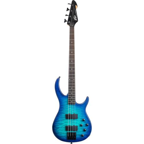 Peavey Millennium AC 4 4-String Electric Bass Guitar (Blue Burst)