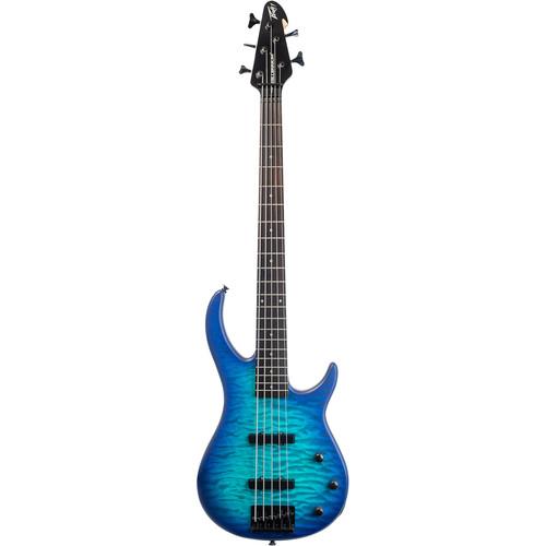 Peavey Millennium 5 5-String Electric Bass Guitar (Blue Burst)