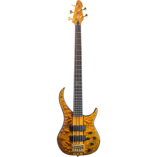 Peavey Cirrus 5 5-String Electric Bass Guitar (Tiger Eye)