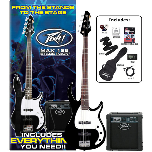 Peavey Max Bass Stage Pack (Black)