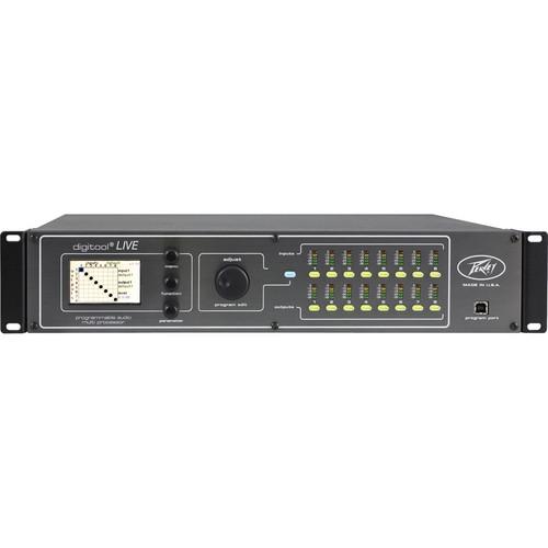 Peavey Digitool LIVE 8-Input/8-Output Live Audio DSP Processor (120V US)