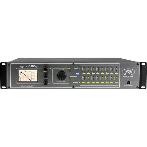Peavey Digitool MX 16-Channel Digital Audio Processor