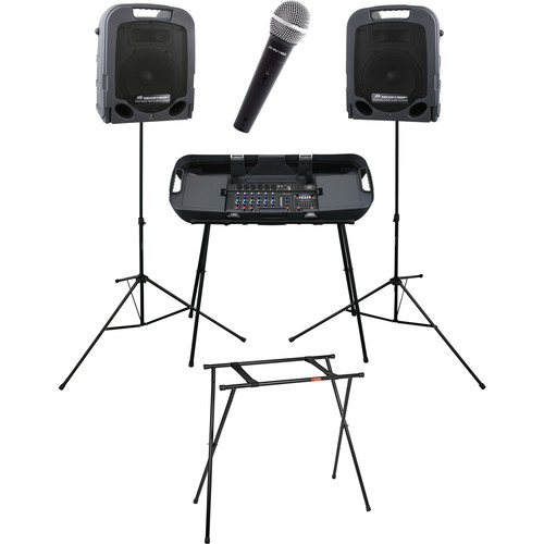 Peavey Escort 3000 Portable PA System with Stand and Microphone