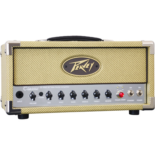 Peavey Micro Head Series Classic 20W Tube Guitar Amplifier